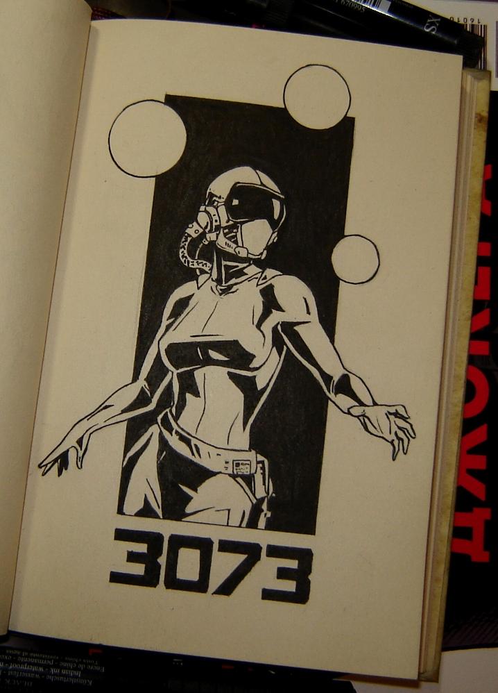 Космический скиталец, год 3073